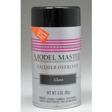 Clear Gloss Finish 3oz Lacquer Spray