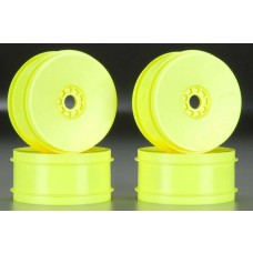 AKA Racing EVO 1/8 Buggy Wheels Yellow (4)