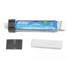 1S 3.7v 200mAh 45C LiPo Battery Pack