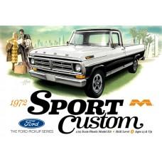 Moebius 1/25 1972 Sport Custom Ford Pickup Plastic Model Kit