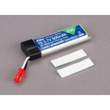 E-flite 1S 3.7V 500mAh (1.9Wh) 25C LiPo Battery