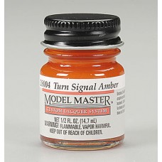 Testors Turn Signal Amber 1/2oz Lacquer Paint Bottle