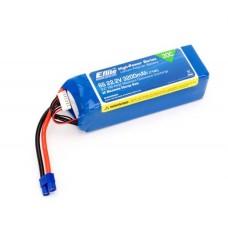 E-flite 3200mAh 6S 22.2V 30C LiPo 12AWG EC3 Connector