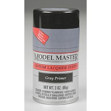 Gray Primer 3oz Lacquer Spray Paint
