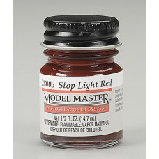 Stop Light Red 1/2oz Lacquer Paint Bottle