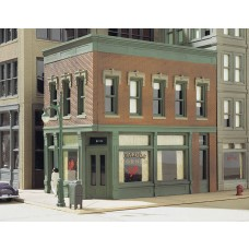 HO Carols Corner Cafe Building Kit