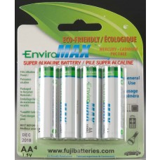 AA Alkaline Batteries (4)