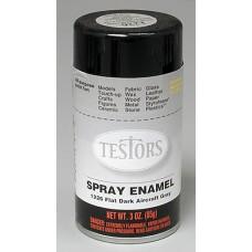 Testors Dark Aircraft Gray Enamel Spray Paint 3oz