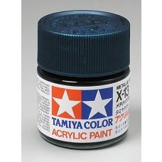 X13 Metallic Blue 3/4 oz Acrylic Paint Jar
