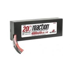 Reaction 20C 4000mAh 2S 7.4v LiPo Battery EC3