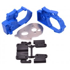 Hybrid Gearbox Housing Blue Stampede/Slash/Rustler