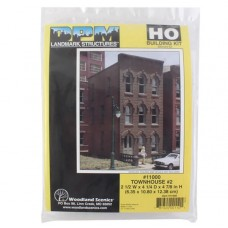 HO Townhouse #2 Building Kit