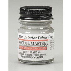Flat Interior Fabric Gray 1/2oz Lacquer Paint Bottle