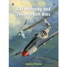 RAF Mustang and Thunderbolt Aces Book