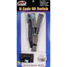 Code 80 Remote Wye Turnout (1 pc) (N)