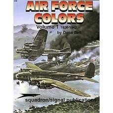 Air Force Colors Vol 1: