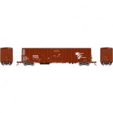 Athearn HO Scale 57' Mechanical Reefer w/Sound BNSF/WFE #795245