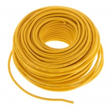 50 Foot 20 Gauge Standard Layout Wire Yellow