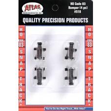 Atlas HO Scale Code 83 Bumper 518