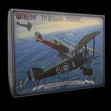 Wingnut Wings 1/32 Sopwith F.1 Camel & LVG C.VI The Duellists Plastic Model Kit