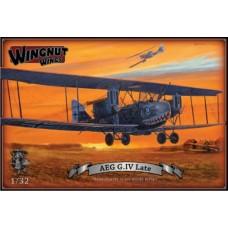 Wingnut Wings 1/32 AEG G.IV Late Plastic Model Kit