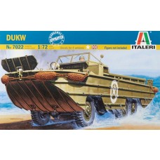 1/72 WWII DUKW Amphibian Vehicle Plastic Model Kit