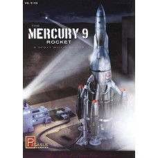 1/350 Mercury 9 Rocket Plastic Model Kit