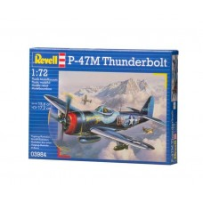 1:72 P-47 M Thunderbolt Plastic Model Kit