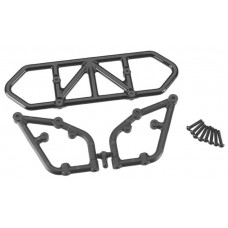 RPM Black Rear Bumper Slash 2wd 81002