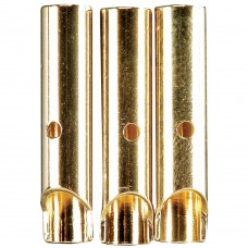 GOLD BULLET CONN FEMALE 4MM(3)