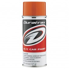 Duratrax Candy Orange Lexan Body Spray Paint