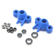 RPM Blue Axle Carriers-Bearings T/E-Maxx 80585