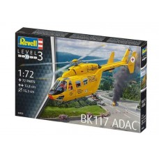 1:72 BK-117 ADAC Helicopter Plastic Model Kit
