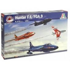 1:72 Hawker Hunter F.6/FGA.9 Plastic Model Kit