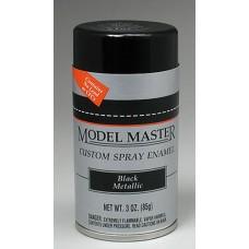 Black Metallic 3oz Enamel Spray Paint