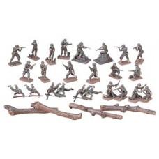 1:72 U.S. Infantry Combat Team Plastic Model Set