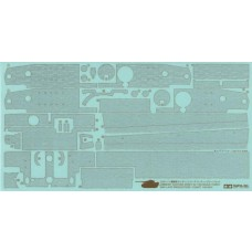 Tamiya 1/35 Zimmerit Coating Sheet Tiger I Mid Late Production Decal Sheet