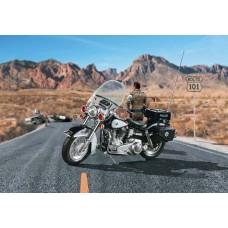 1/8 US Police Motorbike Plastic Model Kit