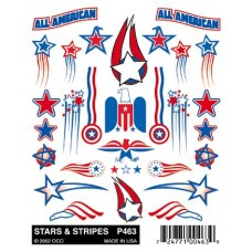 Stick-On Decals Stars - Stripe