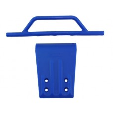 Front Bumper/Skid Plate Blue Slash 2wd/Nitro