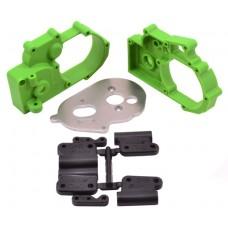 Hybrid Gearbox Housing Green