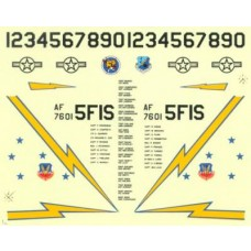 1:48 F-15 Eagle 5th FIS Minot North Dakota Decal Set
