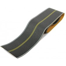 HO Flexible Self-Adhesive Paved Roadway - Vintage and Modern No Passing Zone