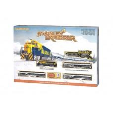 N Alaska Railroad McKinley Explorer Train Set