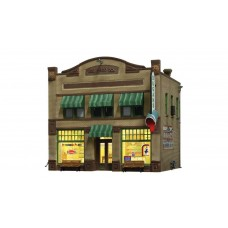 N Scale Built Up Dugan's Paint Store