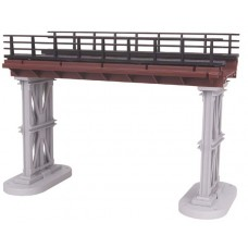 O Elevated Subway Trestle Bridge