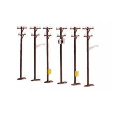 Telephone Pole Set (6 Count)