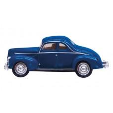 N Blue Coupe Just Plug Lighted Vehicle