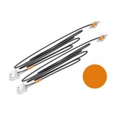 Orange Stick-On LED Lights (2)