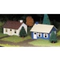 Plasticville Cape Cod House (2 Pack)